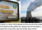Atomowy szantaż: gmina zarabia, gdy nie krytykuje rządowej spółki