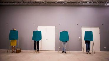 Wybory w Szwecji w 2018 roku. Szwedzi głosują