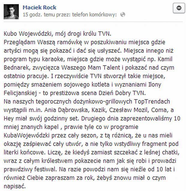Maciek Rock