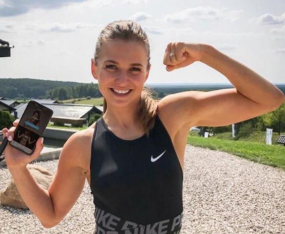 Anna Lewandowska stworzyła aplikację Diet&Training by Ann. Liczba pobrań? Ogromna!