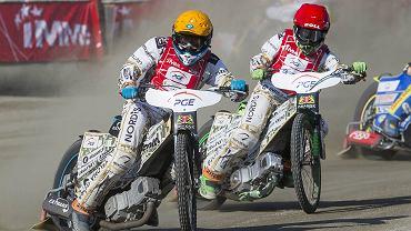 Piotr Protasiewicz i Patryk Dudek (zawody IMME 2016)