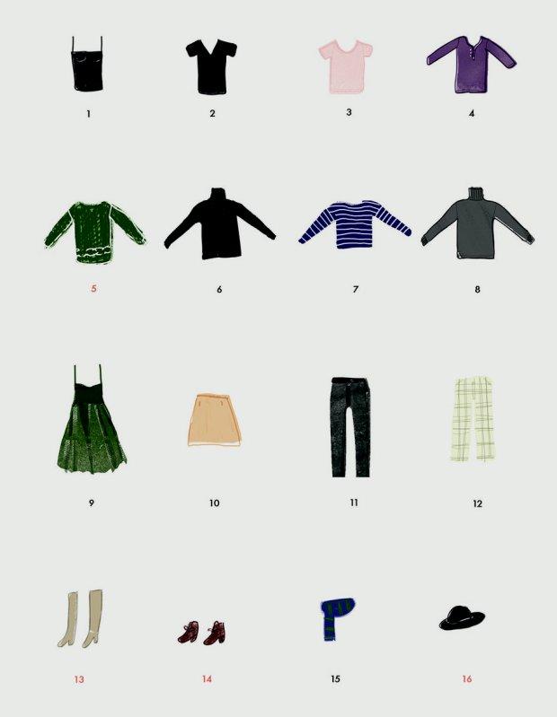 Podstawa garderoby za 50 złotych (il. Mroux)