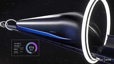 Test wagonika XP-1 Hyperloop