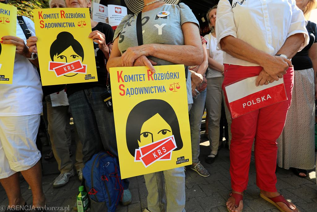 Stowarzyszenie Sędziów Polskich 'Iustitia' sporządziło raport o represjach wobec niezależnych sędziów ze strony władzy. Zdjęcie ilustracyjne