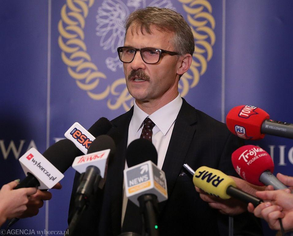 Przewodniczący Krajowej Rady Sądownictwa Leszek Mazur