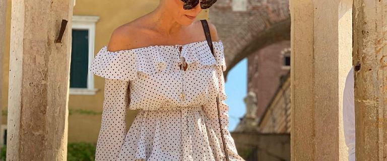 Małgorzata Rozenek w pięknej sukience hiszpance to nasza #stylizacjatygodnia!
