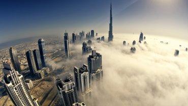 Dubaj we mgle