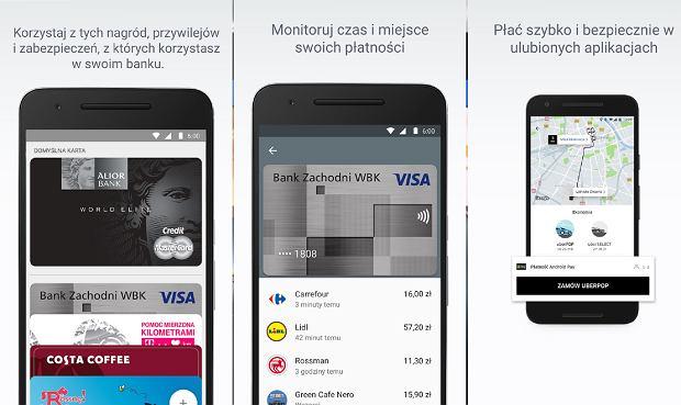 Aplikacja Android Pay