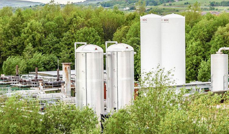 Magazyn energii w technologii LAES w Bury pod Manchesterem.