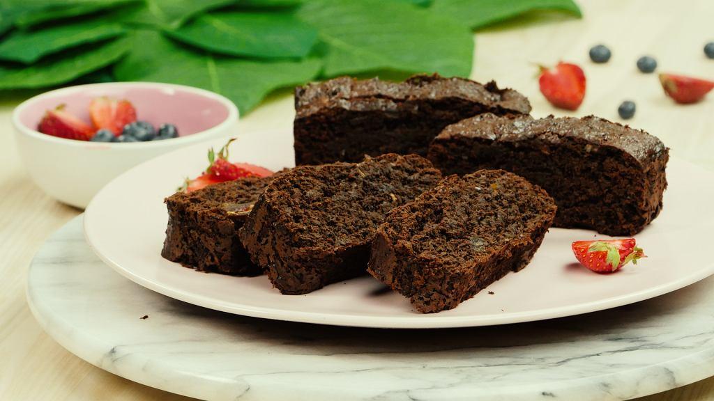 Brownie Fit bez mąki i cukru