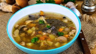 Zupa z borowików - przepis