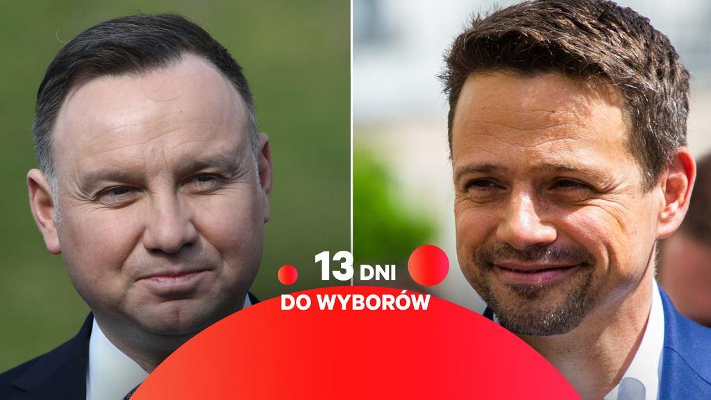 Wybory 2020. Andrzej Duda i Rafal Trzaskowski