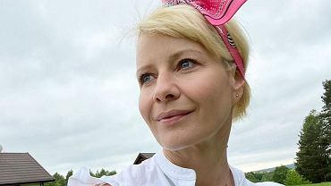 Małgorzata Kożuchowska zaskoczyła internautów rodzinnym zdjęciem z wakacji.