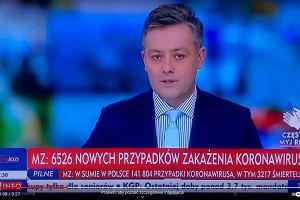 Michał Cholewiński odchodzi z TVP do Polsat News. To on skrytykował na wizji orzeczenie TK