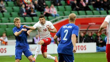 Polska - Finlandia 5:0. Paweł Wszołek