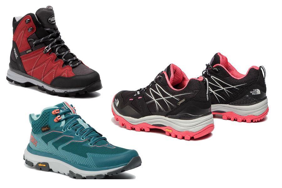 Lekkie buty trekkingowe na lato damskie
