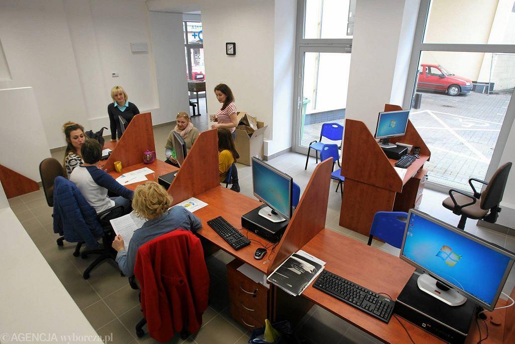 Szczecińskie Centrum Świadczeń przy ul. Śląskiej. Tu od 1 kwietnia można składać wnioski o 500 zł na dziecko
