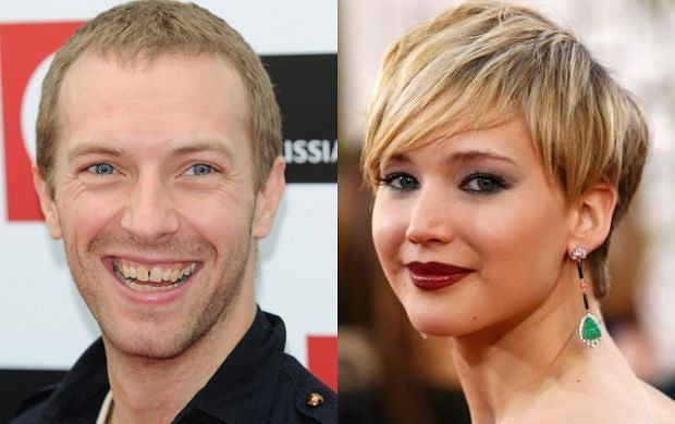 Chris Martin i Jennifer Lawrence