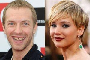Chris Martin i Jennifer Lawrence
