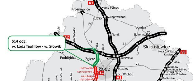 Chińska firma zbuduje fragment drogi S14