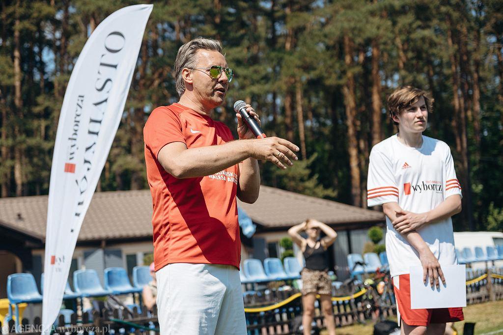IX Turniej Charytatywny Gazety Wyborczej Trójmiasto. Prezes Portu Lotniczego Gdańsk Tomasz Kloskowski