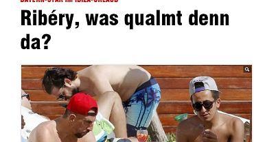Franck Ribery przyłapany na paleniu marihuany?