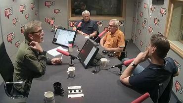 Tomasz Lis, Tomasz Wołek oraz Wiesław Władyka w Radiu TOK FM