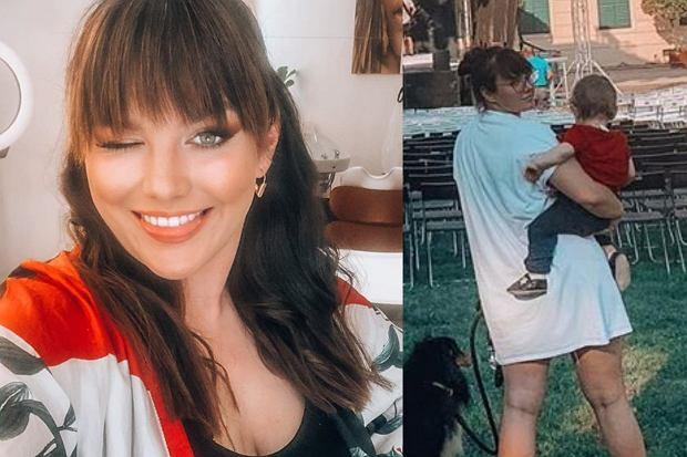Ewa Farna pochwaliła się na Instagramie zdjęciem sprzed sceny. Nie mogło zabraknąć oczywiście jej syna Artura.