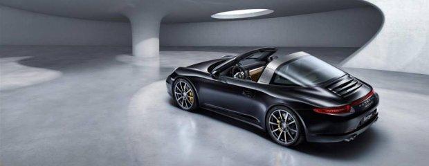 Salon Detroit 2014 | Porsche 911 Targa | Wiatr dla dwojga