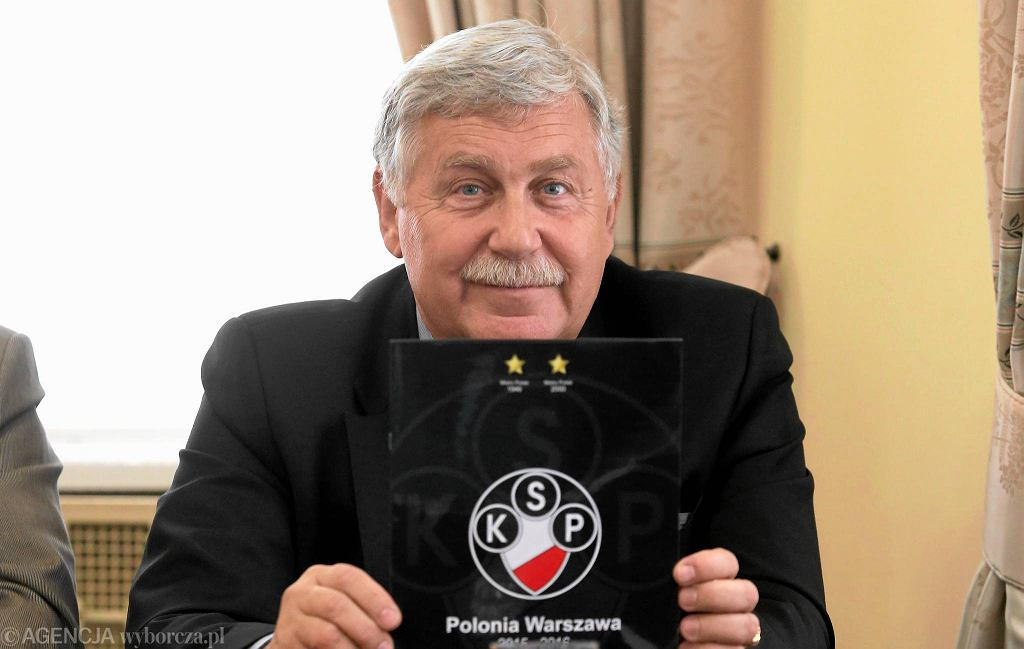 Jerzy Engel - prezes Polonii Warszawa