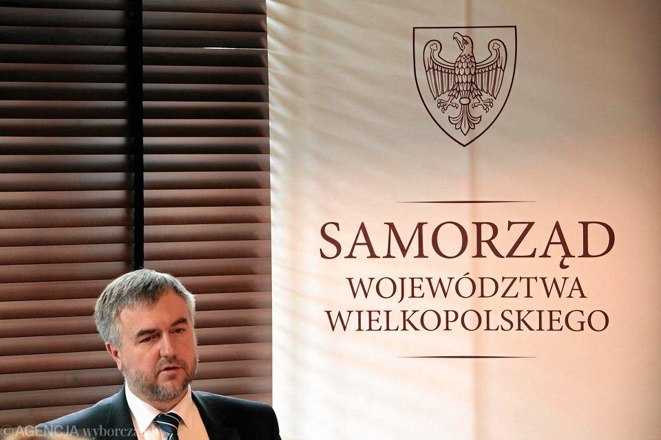 Marszałek Marek Woźniak z PO