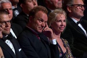 Sting podczas Polar Music Prize Ceremony 2017 słucha występu Jose Feliciano