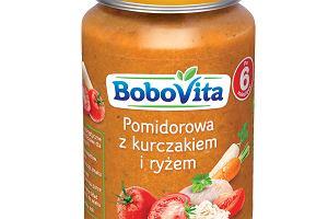 BoboVita Pomidorowa z kurczakiem i ryżem po 6. miesiącu