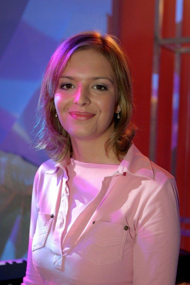 Anna Wendzikowska w 2003 roku na Dniu otwartym TVP