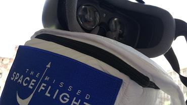 Samsung Gear VR 2017 z aplikacją The Missed Spaceflight