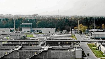 Oczyszczalnia ścieków Czajka w Warszawie