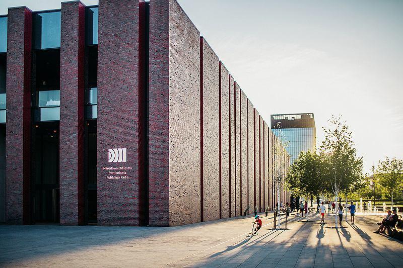 Budynek NOSPR-u w Katowicach