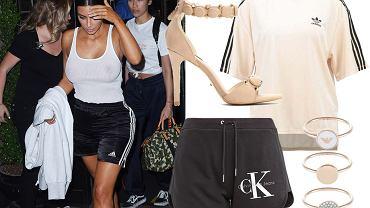 Kim Kardashian - styl athleisure