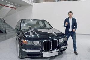 BMW serii 7 z nerkami jak w serii 4? W latach 90. było to możliwe [WIDEO]
