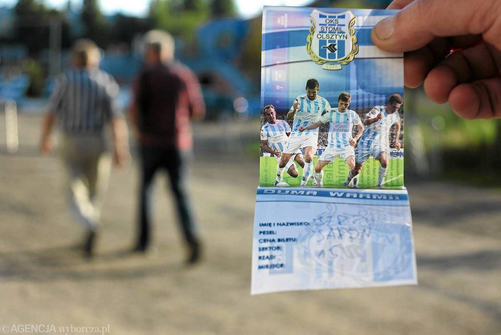 Bilet na mecz Stomilu