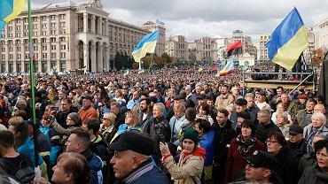 Protesty przeciw porozumieniu pokojowemu