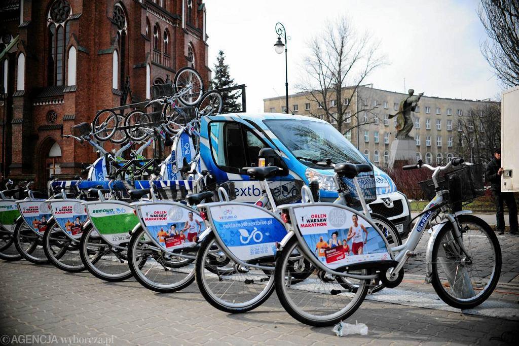 Rowery Veturilo na Pradze