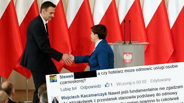 Wojciech Kaczmarczyk  - pełnomocnik rządu ds. społeczeństwa obywatelskiego i równego traktowania