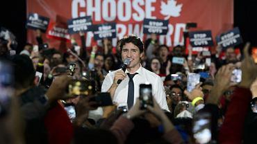 Justin Trudeau wygrał w Kanadzie