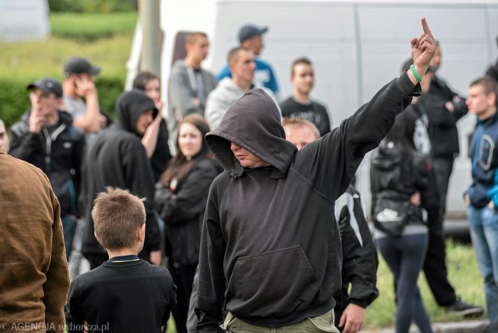 Zamieszki po śmierci Igora Stachowiaka - maj 2016
