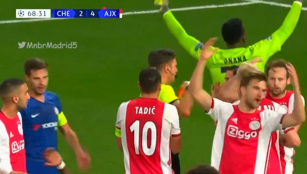Chelsea - Ajax 4:4