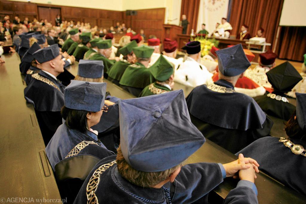 Inauguracja roku akademickiego na UW