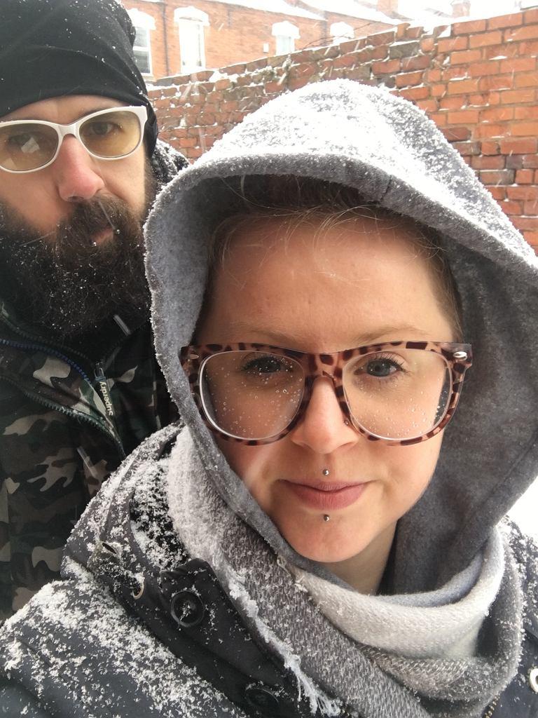 Marta Sobiło i jej narzeczony Paweł