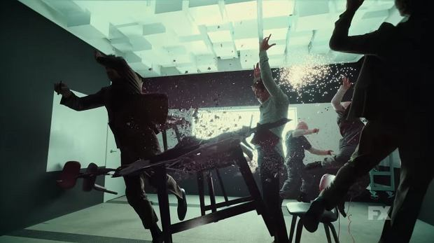 Kadr z trailera serialu 'Legion'
