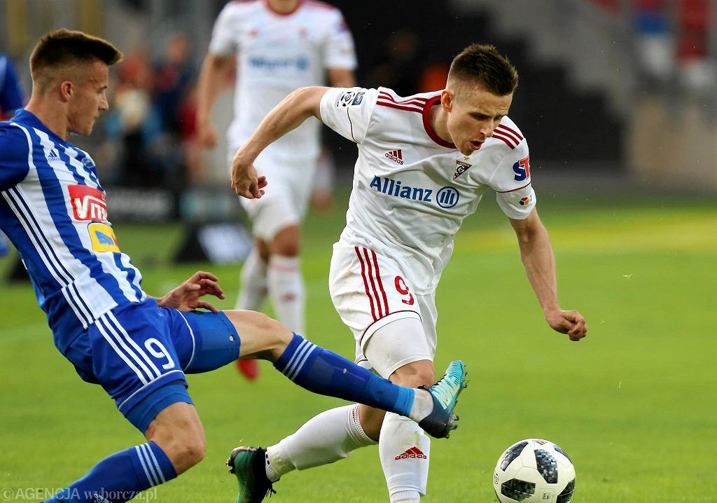 Damian Kądzior w meczu z Płockiem